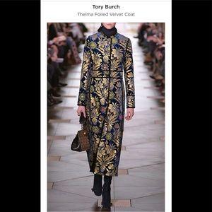 Tory Burch Thelma Cosmic Foiled Coat